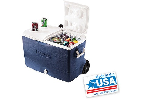 Rubbermaid 5-Day 50-Quart Wheeled Cooler